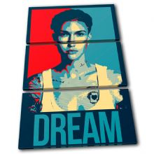 Ruby Rose Dream Abstract - 13-6098(00B)-TR32-PO